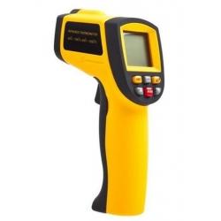 IR spindulių termometras, -50ºC~900ºC su reguliuojama emisija