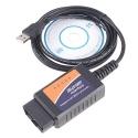 OBDII V1.5 ELM327 kabelis automobilių diagnostikai (CHINA)