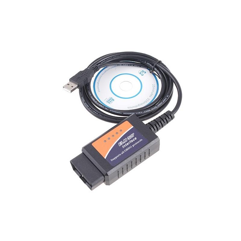OBDII V1 5 ELM327 + FORD modifikuotas kabelis diagnostikai