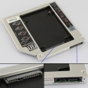 9.5mm SATA - SATA adapteris SSD diskui vietoje CDROM