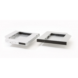 12.7mm IDE - SATA adapteris SSD diskui vietoje CDROM