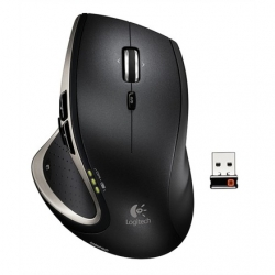 LOGITECH Performance MouseMX Cordless Laser Mouse darkfield