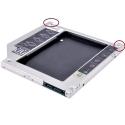 MAC 9.5mm SATA - SATA adapteris SSD diskui (Apple Macbook)