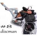 Audio CD - DiscMAN - 8 (promo mix)