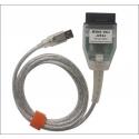 MINI VCI OBD2 diagnostikos įrenginys Toyota automobiliams