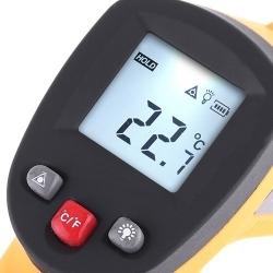 Infrared spindulių termometras, -32ºC~380ºC