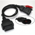 Adapteris Fiat 3pin - OBD2 16pin