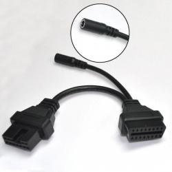 Adapteris Mitsubishi 12pin - OBD2 16pin